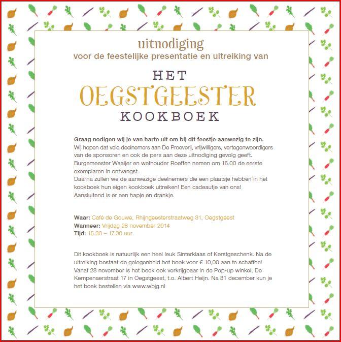 kookboekUitnodiging