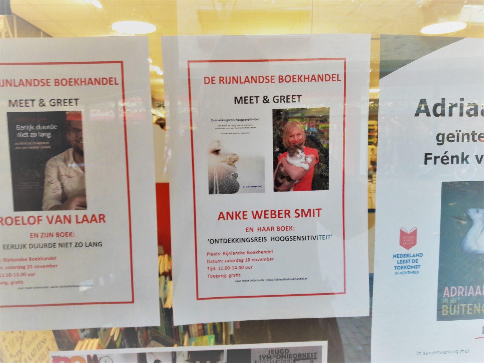 Meet & Greet in de Rijnlandse Boekhandel: morgen!
