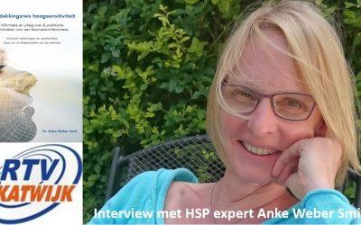Radio interview HSP café met initiator Anke Weber Smit