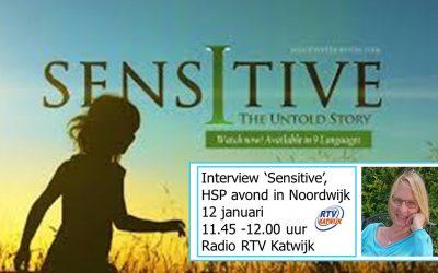 Filmavond 'Sensitive-the movie' en HSP informatiemarkt (een radio interview)